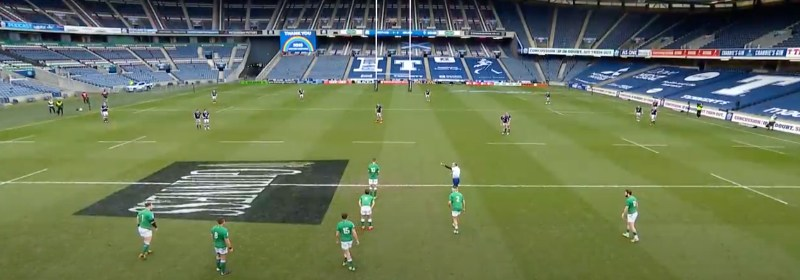 ireland vs scotland match